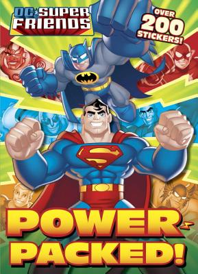 Power-Packed! Deluxe Stickerific By Carbone, Courtney/ Golden Books Publishing Company (COR)